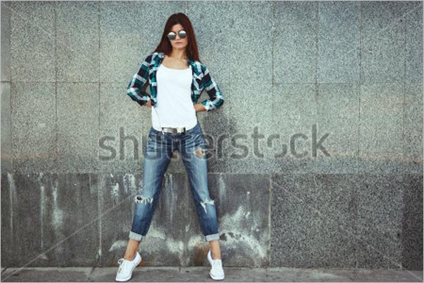 Fashion Mockup PSD Design