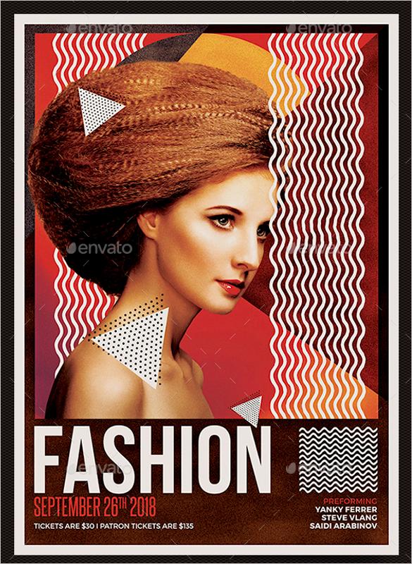 Fashion Poster Design Template