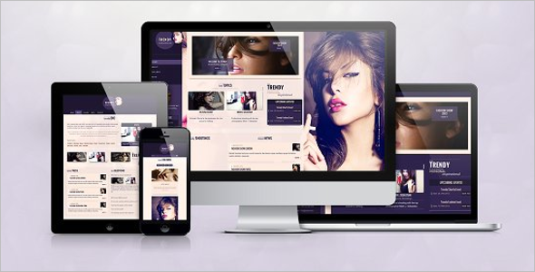 Fashion Responsive Website Template