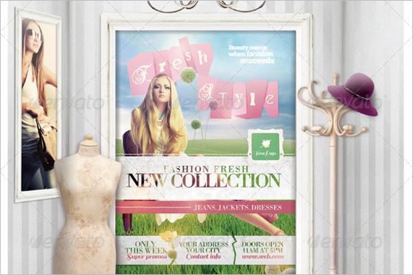 Fashion & Sale Mock-Up Template