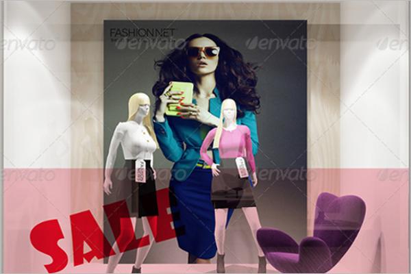 Fashion Shop Mockup Template