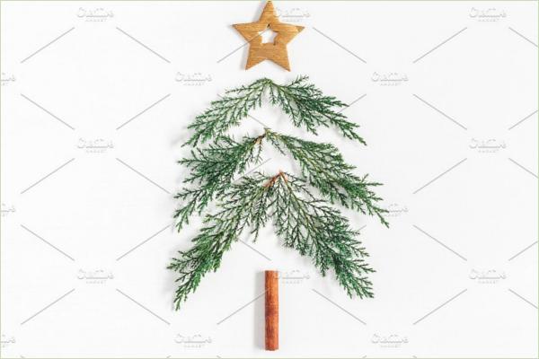 Fiber Xmas Tree Idea