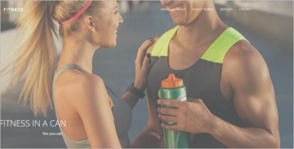 Fitness Website HTML Template