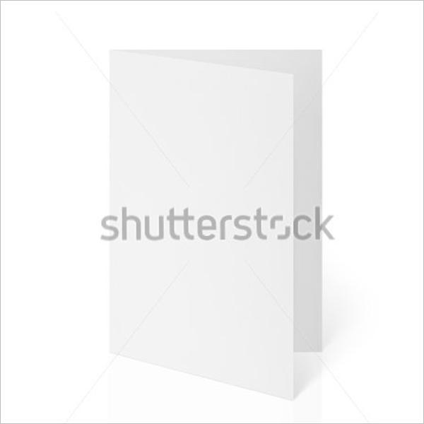 Folded Blank Flyer Design