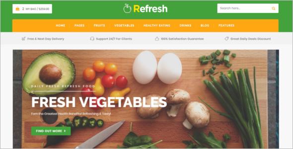 Food & Restaurant Website Template