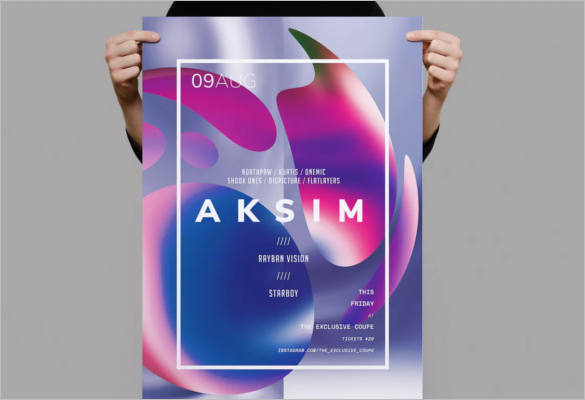 Free A3 Poster Design
