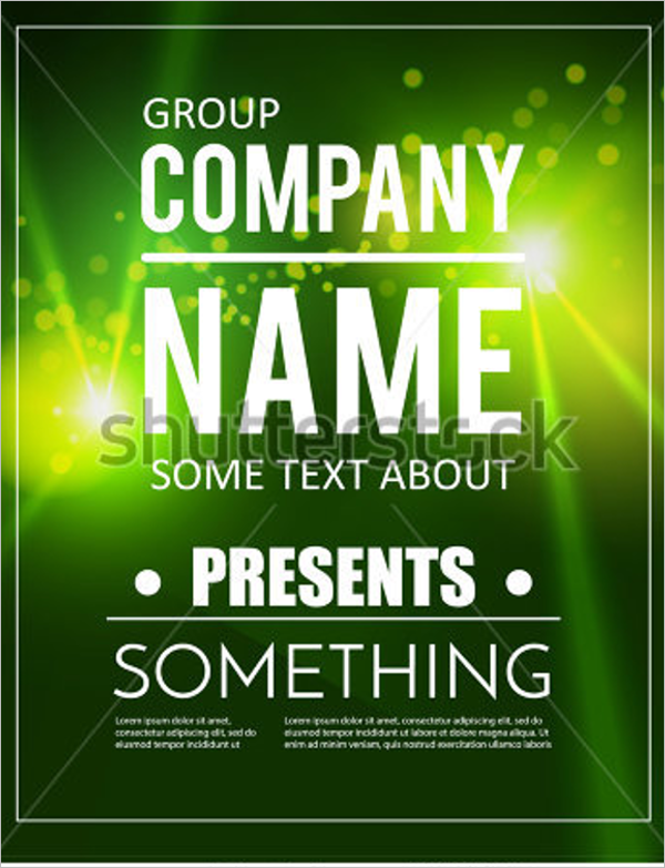 Free Advertise Poster Template