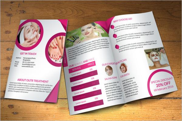 Free Beauty Brochure Template