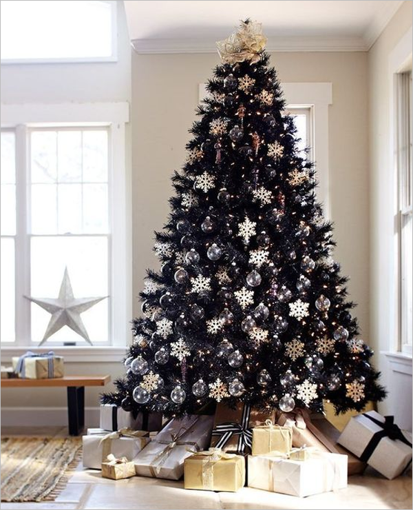 FreeBlack Christmas Tree Idea