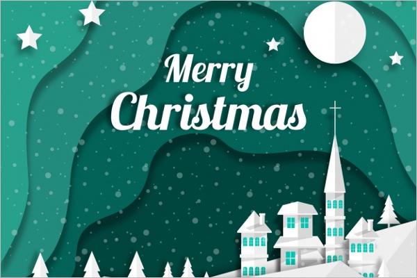 Free Christmas Celebration Background