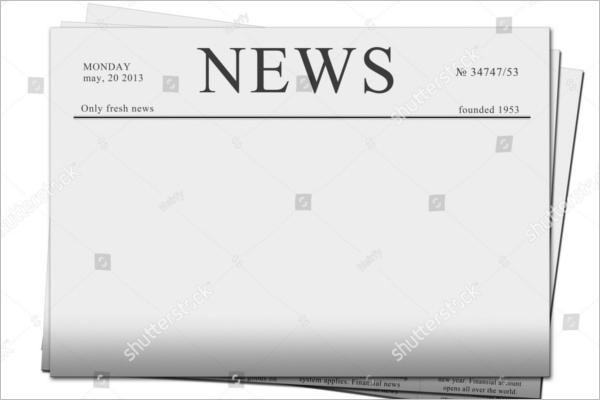 Free Editable Newspaper Mockup