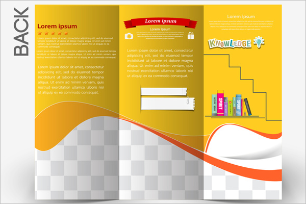 Free Educational brochure template