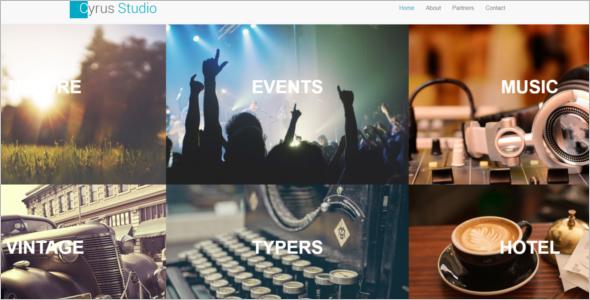 Free Event Website Template