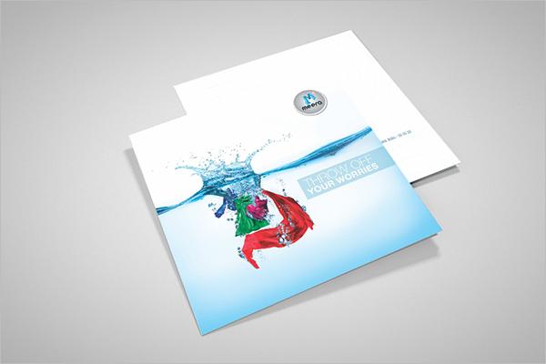 FreeLaundry Brochure Template