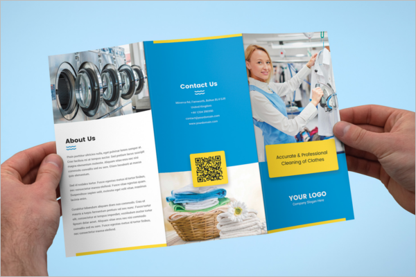 Free Laundry  Services Brochure