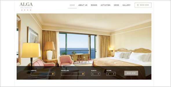 Free Luxury WordPress Theme