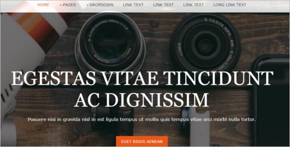 Free Portfolio HTML5 Template