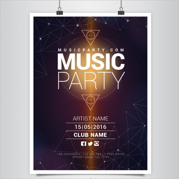 Free Poster Template