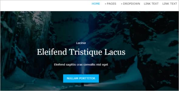 Free ResponsiveHTML Website Template