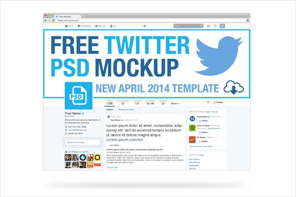 Free Social Media Mockup Template