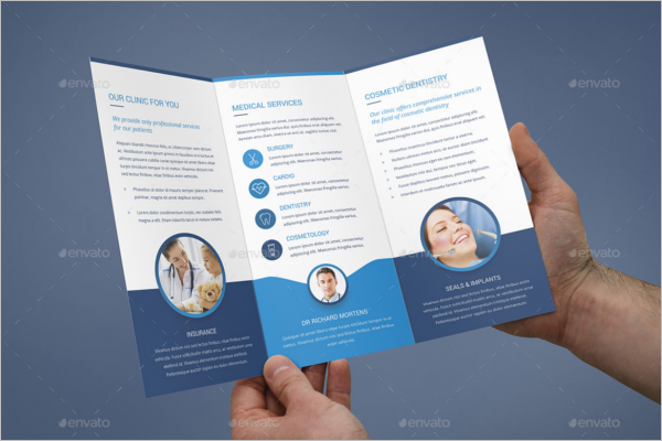 Free Tri-Fold Medical Brochure Template