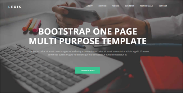 Free Website Builder Template