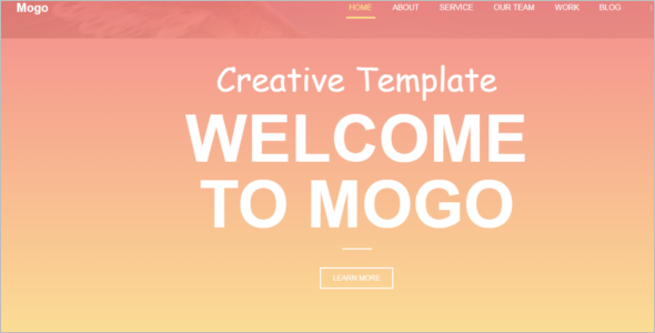 Free Website Template Bootstrap