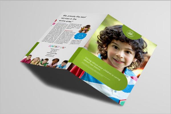 Free kids brochure Template