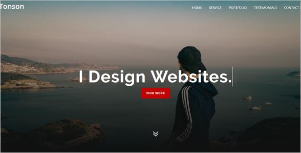 FreelancerPersonal Website Template