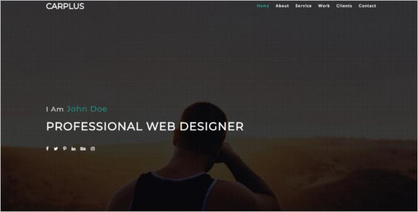Freelancer Website Template