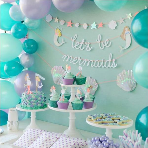Girl's Birthday Party Theme