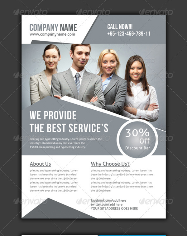 Global Marketing Flyer Template