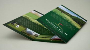 Golf Brochure Design Templates