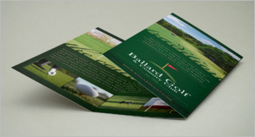 Golf Brochure Design Templates