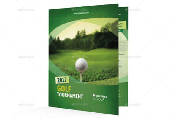 Golf Brochure Design Templates Free Brochure Design Ideas - Golf brochure template