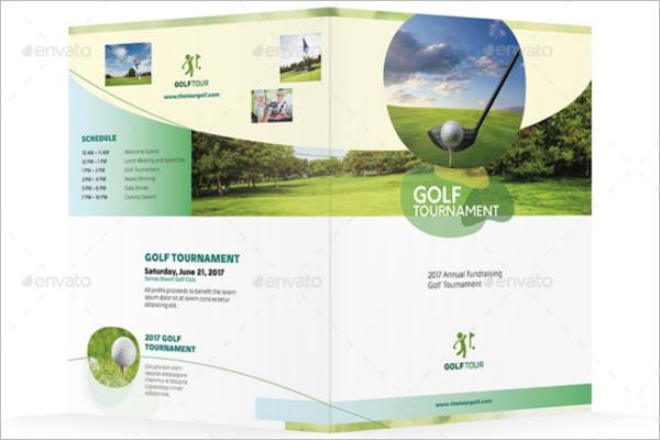 Golf Halffold Brochure