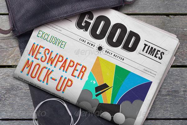 Good Times Newpaper Mockup