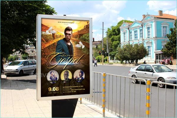 Gospel Poster Template