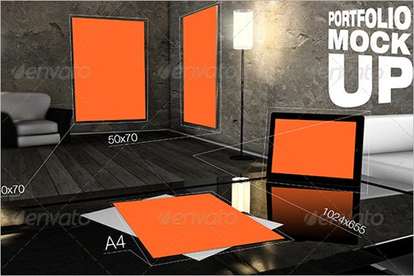 Graphic DesignPortfolio Mockup