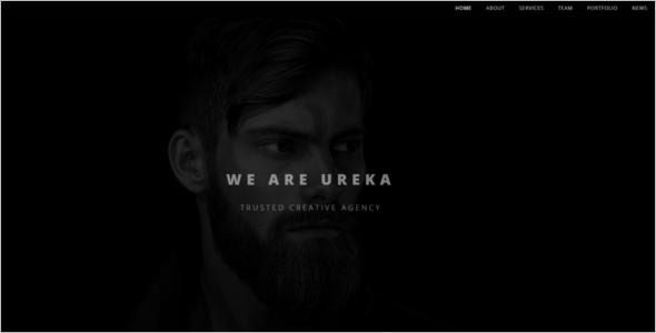Graphic Designer Portfolio Template