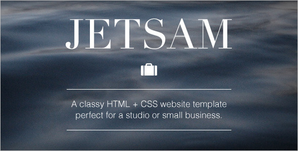 HTML & CSS Website Template