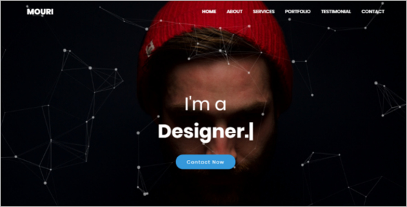 HTML Personal Template