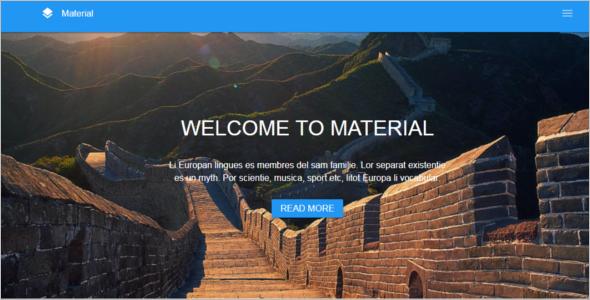 HTML5 & CSS3 Website Template