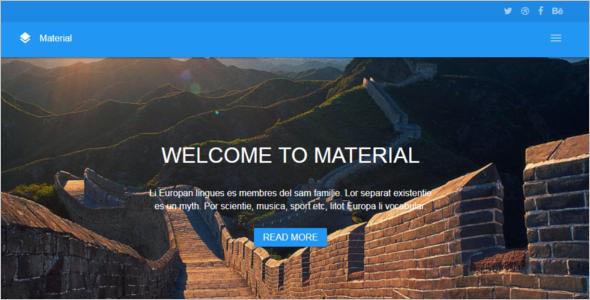 HTML5 & CSS3Website Template