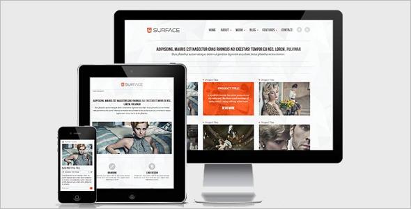 HTML5 ResponsiveWebsite Template