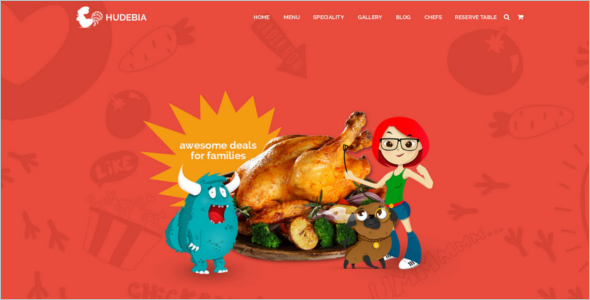 HTML5 Restaurant Template