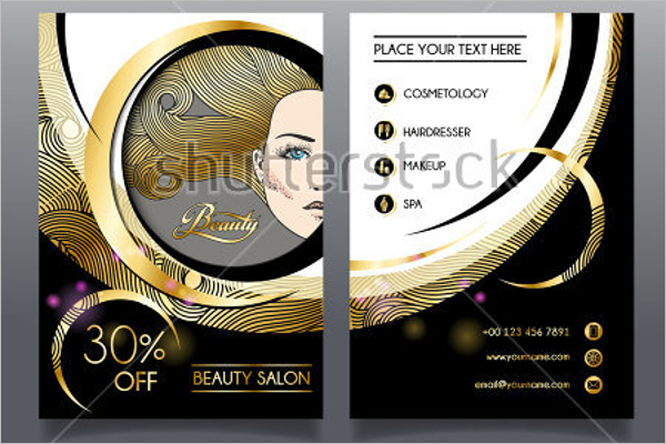 Hair Dresser Brochure Templates