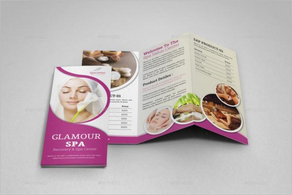 Hair Salon Brochure Examples