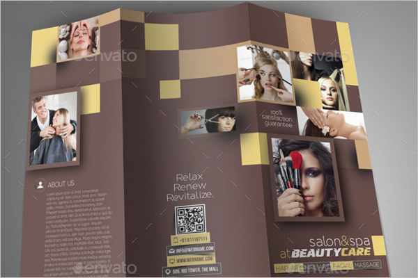 Hair Salon Brochure Ideas