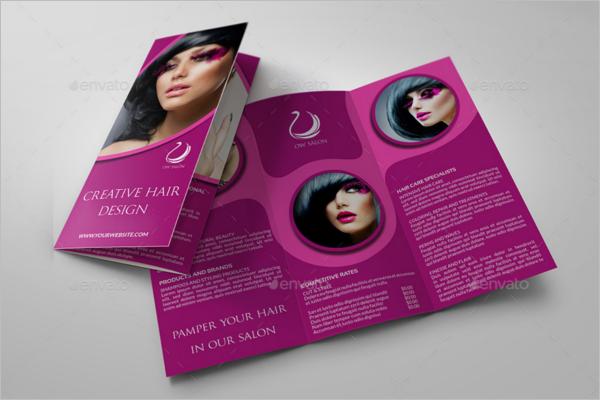 Hair Stylist Brochure Template